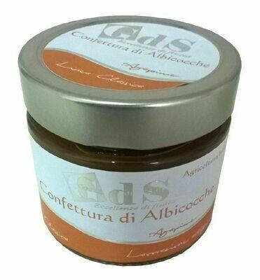 Confettura di Albicocche, cioccolato bianco e rum BIOLOGICA 230 g