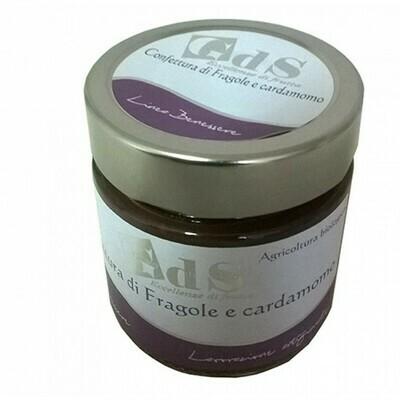 Confettura di Fragole e Cardamo BIOLOGICA 230 g