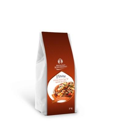 FARINA DI GRANO TENERO TIPO 0 SPECIALE PER PIZZA   1 kg
