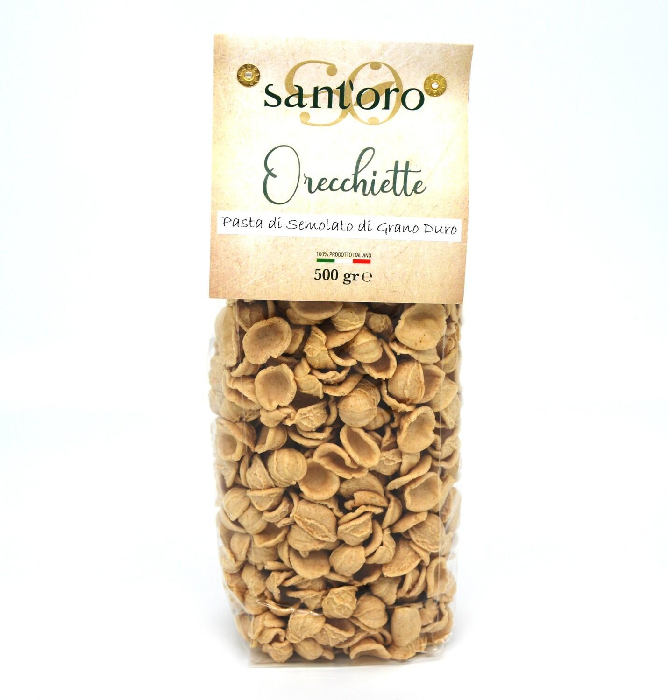 """Orecchiette """"Sant'oro"""" di Semola di Grano Duro  - 0,5 kg"""