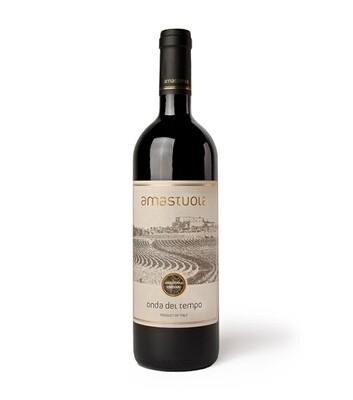 Onda del Tempo (Primitivo, Aglianico, Merlot, Cabernet Sauvignon) Biologico 750 ml - Cantina Amastuola