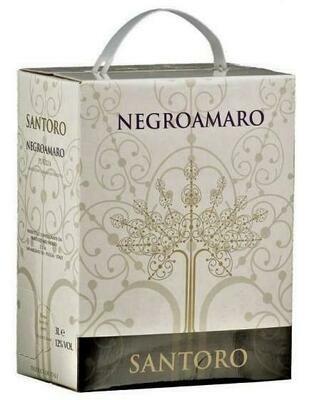 Negramaro IGP Puglia In BAG IN BOX 3 litri Vini Rosso
