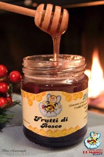 Alimento a base di Miele e Frutti di Bosco 300 gr