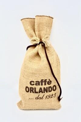 Sacchetto di Juta da 0,5 kg di CAFFÈ macinato miscela Classica - Caffè Orlando