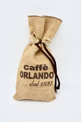 Sacchetto di Juta da 0,25 kg di CAFFÈ macinato miscela Classica - Caffè Orlando