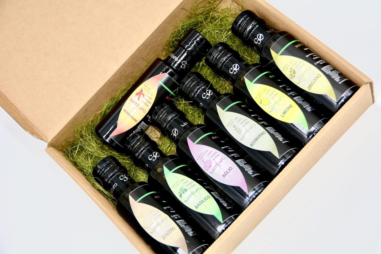 Box Aromatizzato - 8 bottiglie assortite da 250 ml