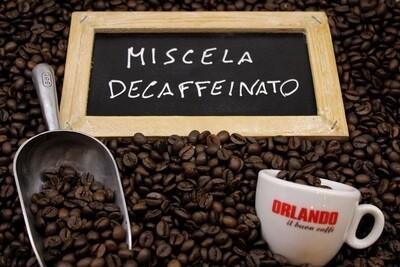 Caffe Decaffeinato in Grani, miscela selezionata 250 gr