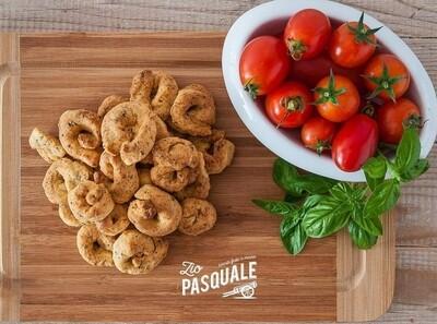 Taralli al pomodoro e basilico 300g