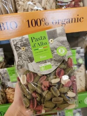 Gnocchetti tricolore Bio  -Farina di Riso - GLUTEN FREE - PASTA D'ALBA