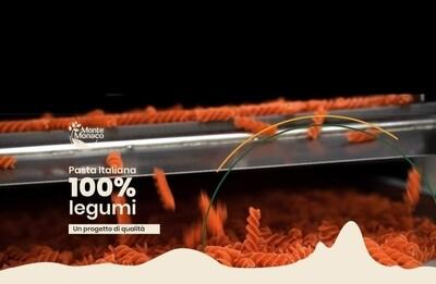 Fusilli 100% farina di lenticchie SFUSA