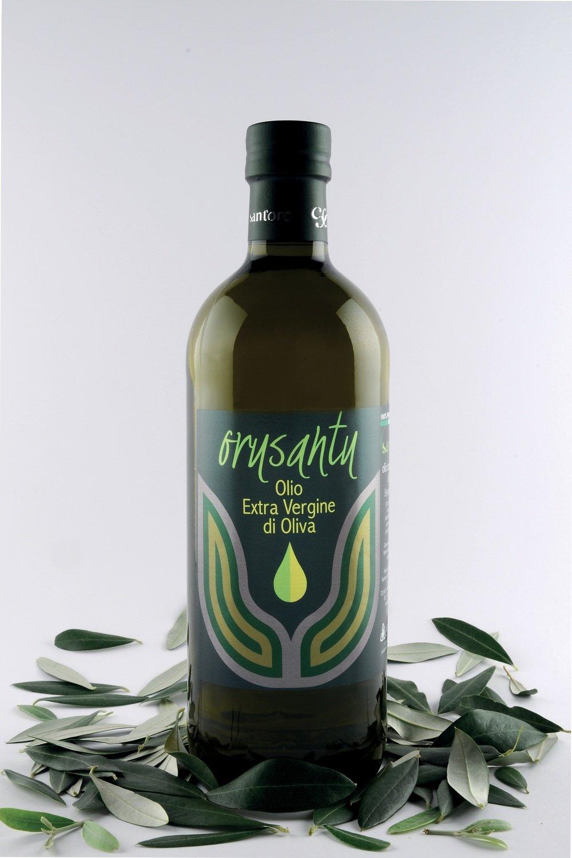 "bottiglia da 1 lt  -  Olio Evo ""ORUSANTU"""