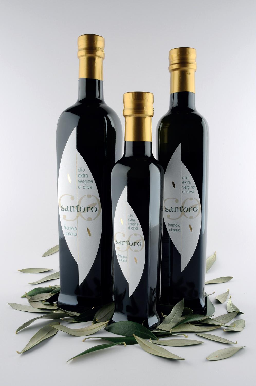 bottiglia 0,75 lt  -  MonoCultivar OGLIAROLA - Olio Evo - Estratto a Freddo - Prodotto 100% Italiano (campagna di raccolta 2019/20)