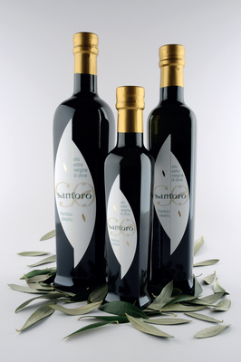 bottiglia 0,1 lt  -  MonoCultivar OGLIAROLA - Olio Evo - Estratto a Freddo - Prodotto 100% Italiano (campagna di raccolta 2019/20)