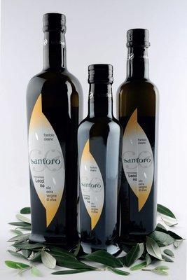 bottiglia 0,1 lt  -  Monocultivar LECCINO - Olio EVO BIOLOGICO (campagna di raccolta 2019/20)