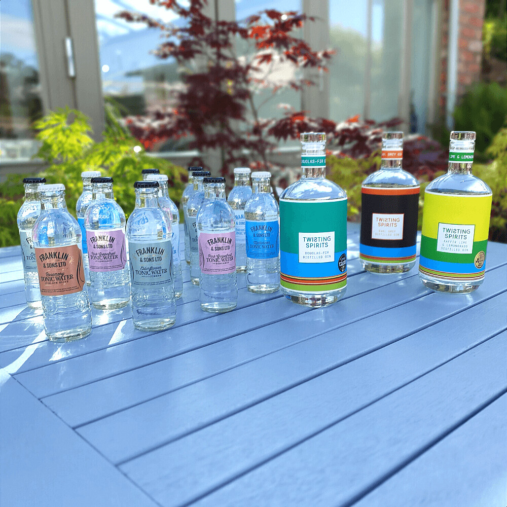 Three bottle Ginspirational Bundle with 12 FREE tonics, FREE spirits book and FREE Shipping!