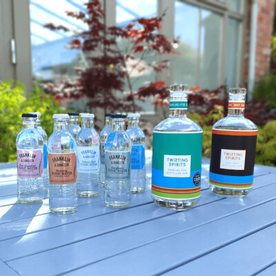Two bottle Ginspirational Bundle with 8 FREE tonics and FREE Shipping!