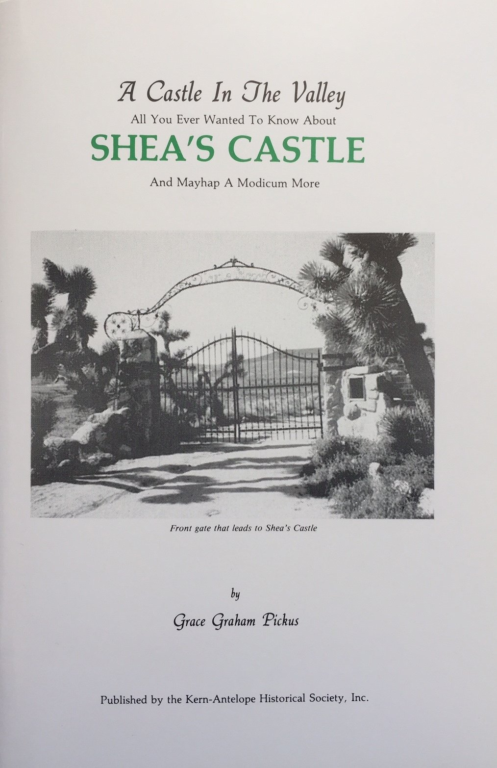 A Castle In The Valley (Shea's Castle) 00000