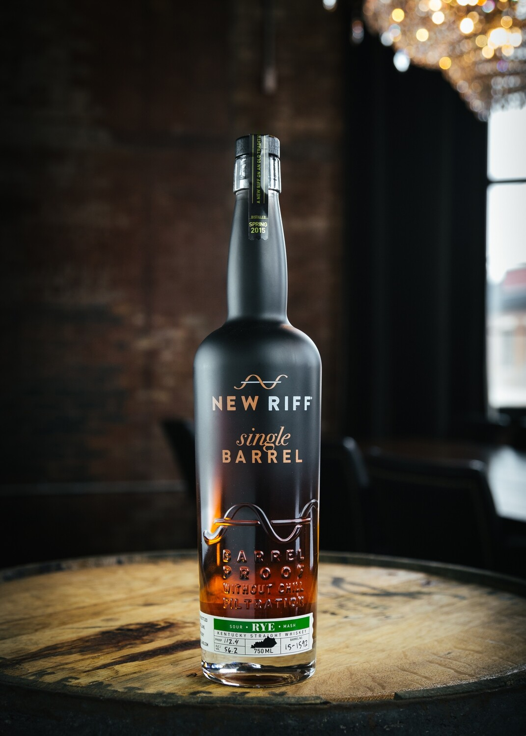 New Riff Single Barrel Rye - Barrel Proof - 750 ml