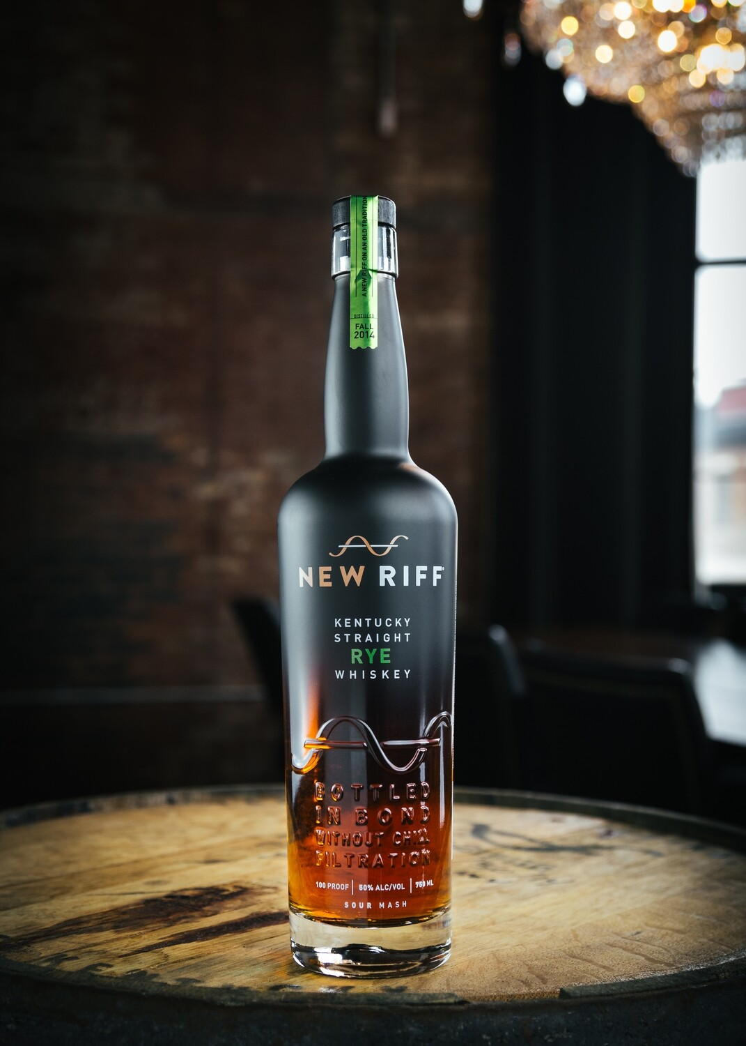 New Riff Rye - Bottled in Bond - 750ml