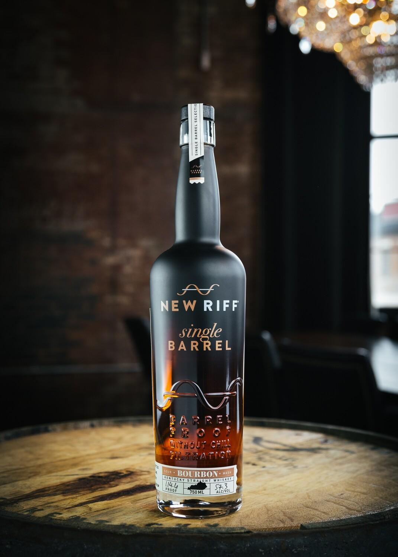 New Riff Single Barrel Bourbon - Barrel Proof - 750 ml