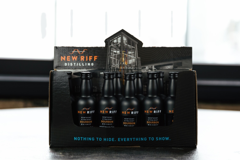 New Riff Bourbon Mini 12pack Case