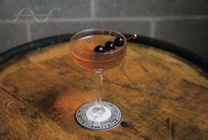 Carryout Cocktail - Rye Perfect Manhattan