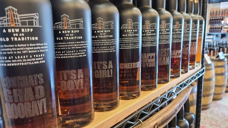 Message on a Bottle - BIB Bourbon - 750 ml