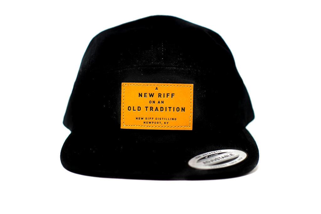 New Riff Hat - 5 Panel Leather