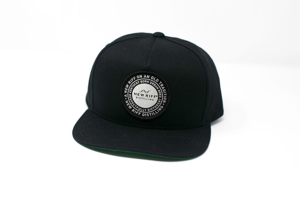 Hat - Circle Badge Patch Snapback