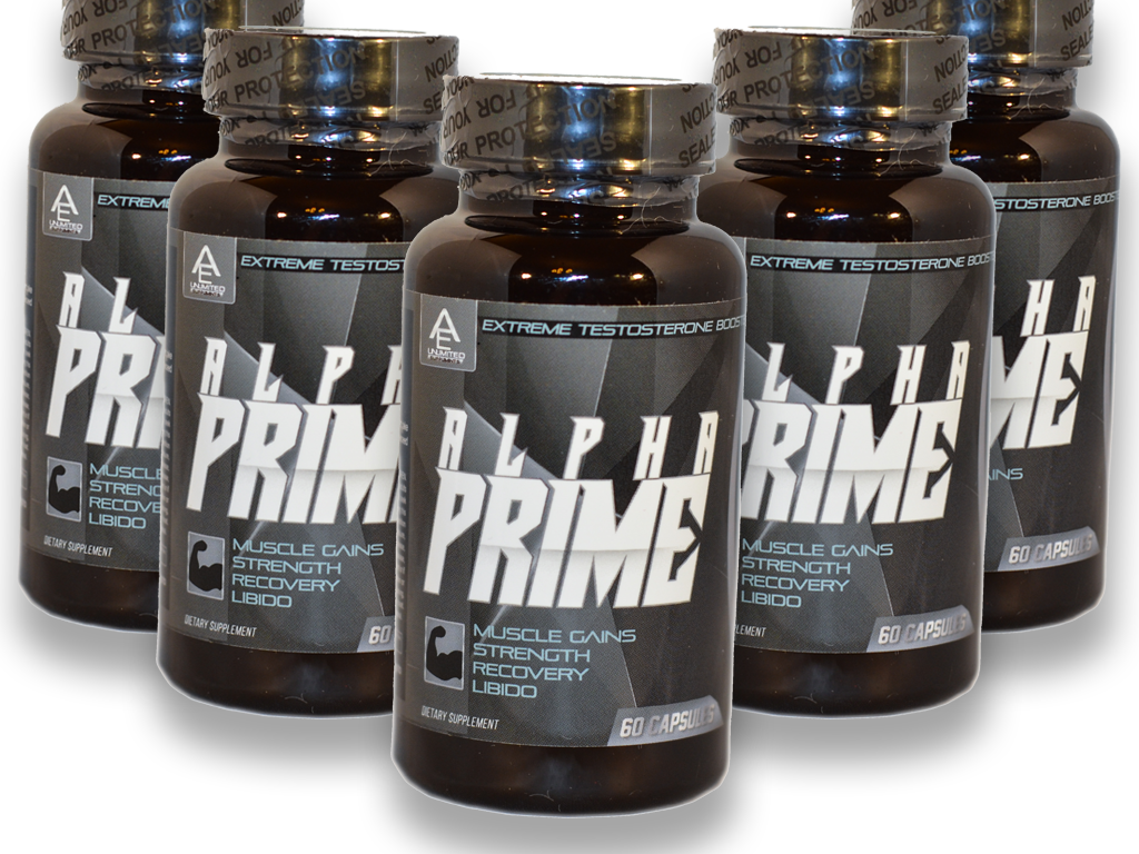 Alpha Prime - Extreme Testosterone Booster
