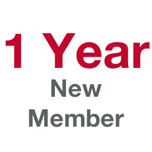 1 Term (Year) Membership - New Member