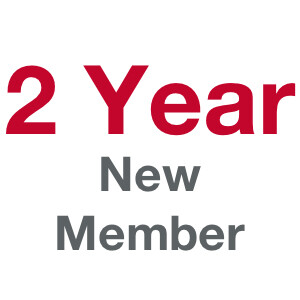2 Term (Year) Membership - New Member