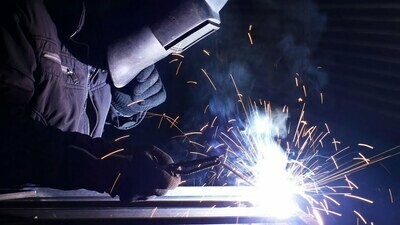INTRODUCTION TO WELDING Jan 26, 2021- May 4, 2021 Tuesdays 5-9 pm