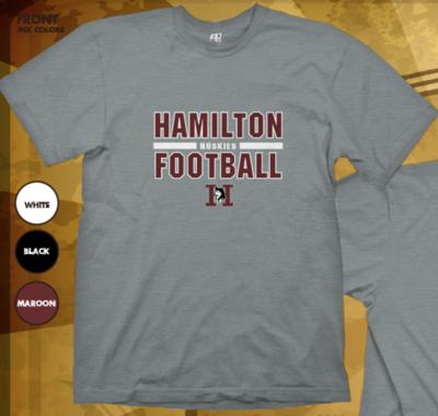 Hamilton Football Bar None - Unisex Soft Tee