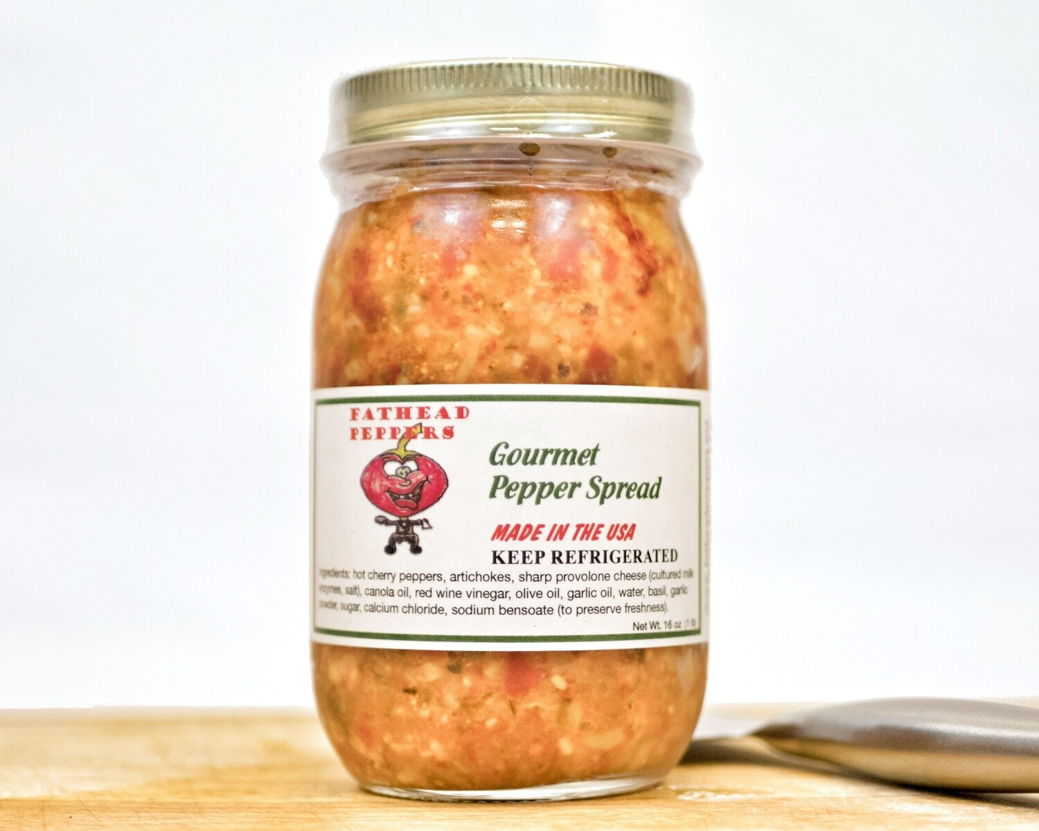 Gourmet Pepper Spread - 16 oz. Jar