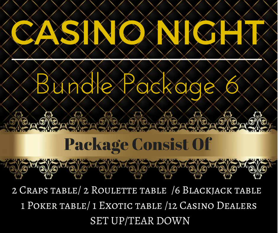 ​Casino Rental Package 6 Only $3,200.00(Pay Deposit Half of Final Price)