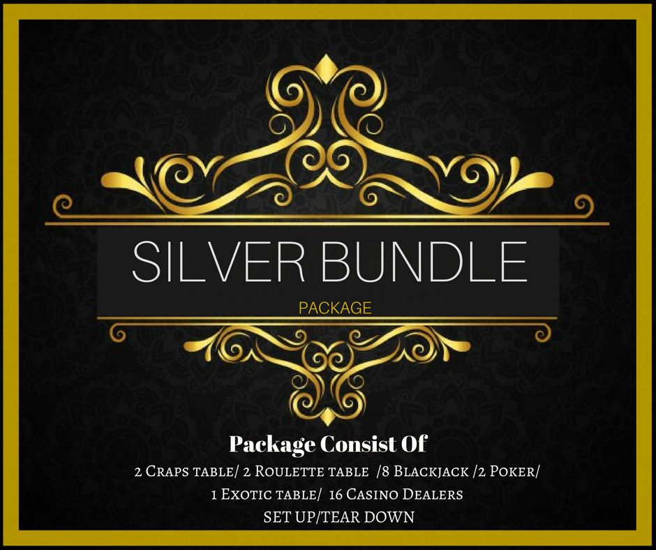 SILVER BUNDLE Package Only $3,875.00(Pay Deposit Half of Final Price)