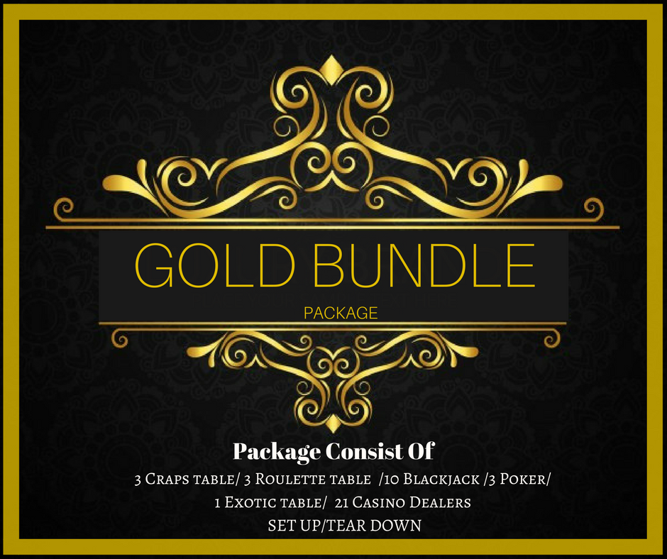 GOLD BUNDLE Package Only $5,250.00(Pay Deposit Half of Final Price) Dealers gratuities / Delivery / - Not included in price
