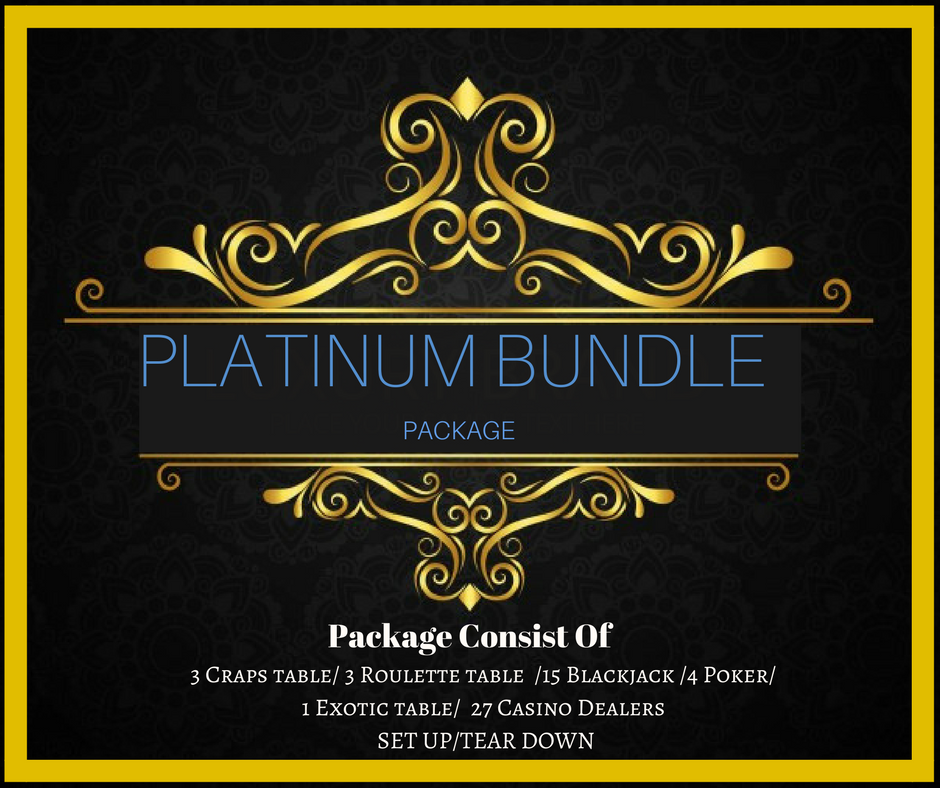 ​PLATINUM BUNDLE Package Only $6,475.00( Pay Deposit Half of Final Price) Dealers gratuities / Delivery / - Not included in price