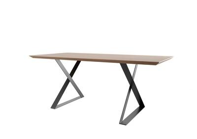 Metal Table Legs. XZ-shape table legs. Industrial legs. Modern steel table legs.