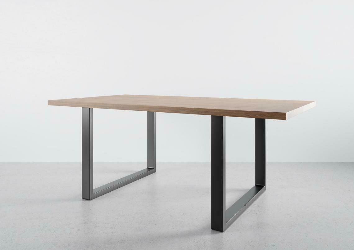 "Metal Desk Legs for Home Office I Steel desk legs I Modern desk legs 28"" tall for home office. [D003]"