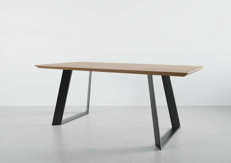 "Metal Dining table legs 28""x28"". Steel Table Legs ALEXANDRA. Metal Desk Legs. Industrial Table Legs for Reclaimed Wood"