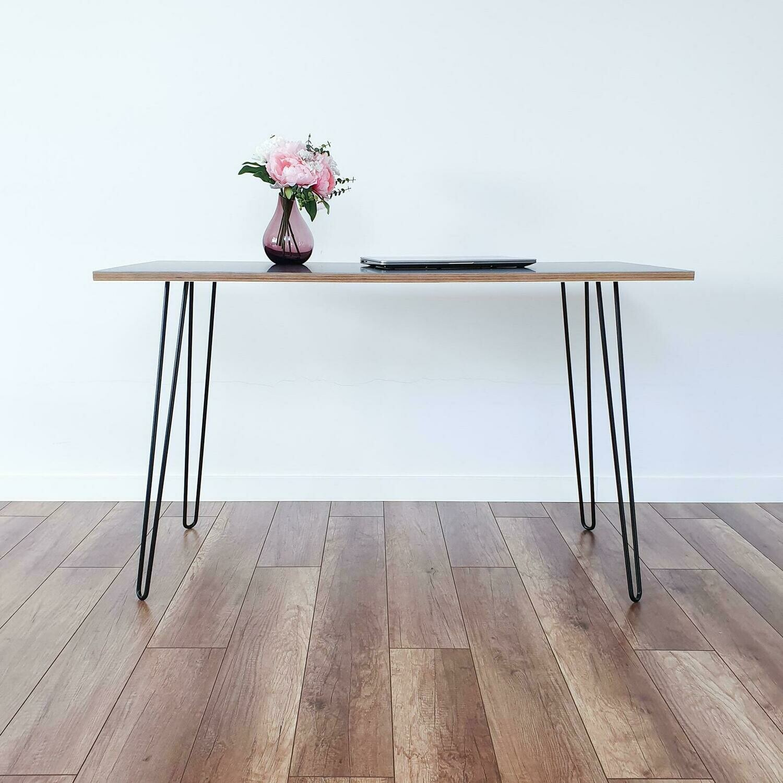 Hairpin Metal Dining Table Legs set(4). Steel Table Legs. Metal Desk Legs, Iron Table Legs by StaloveStudio