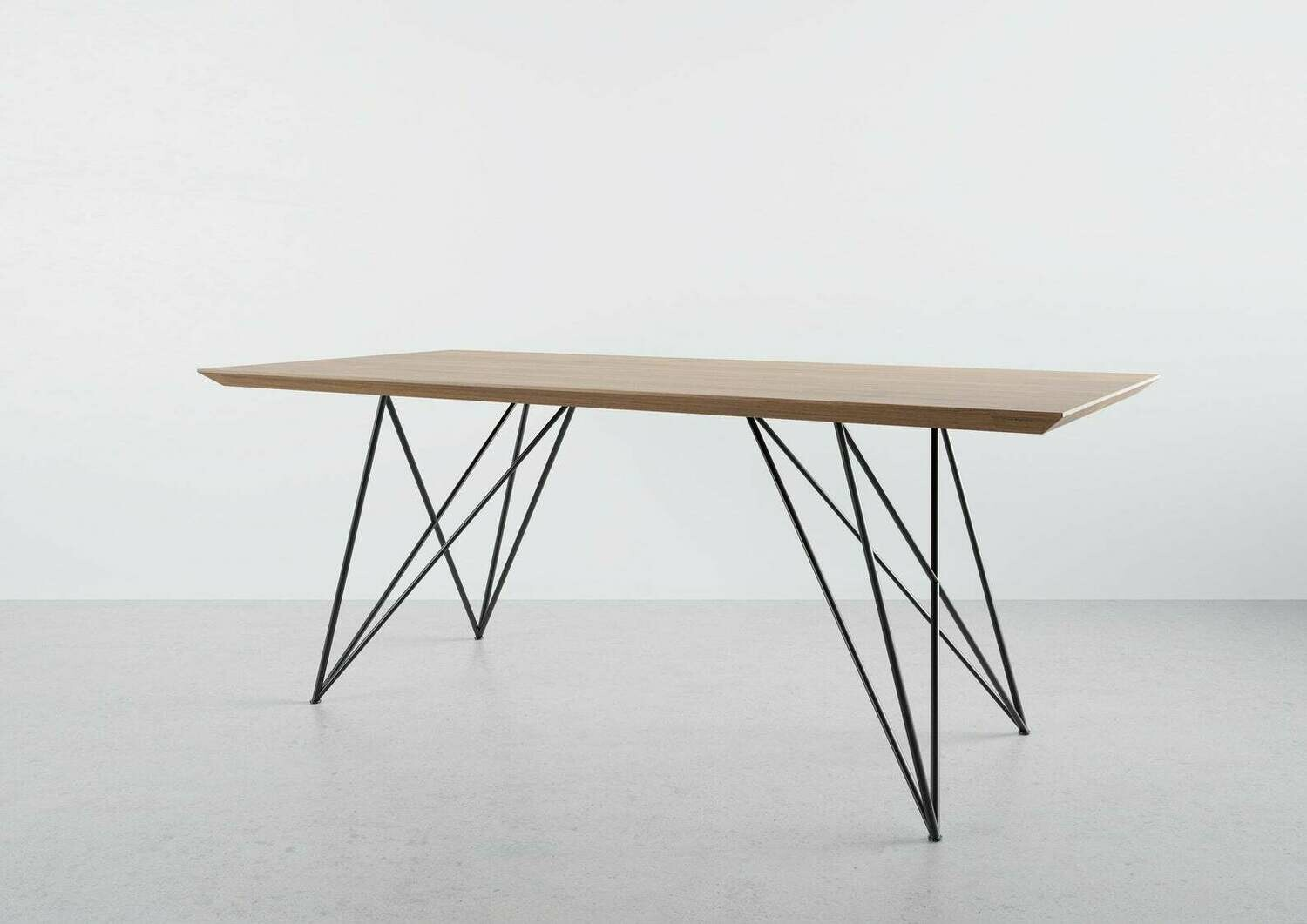 Metal Dining Table Legs (2 legs). Butterfly Steel Hairpin Table Legs for Kitchen Table. [D047]