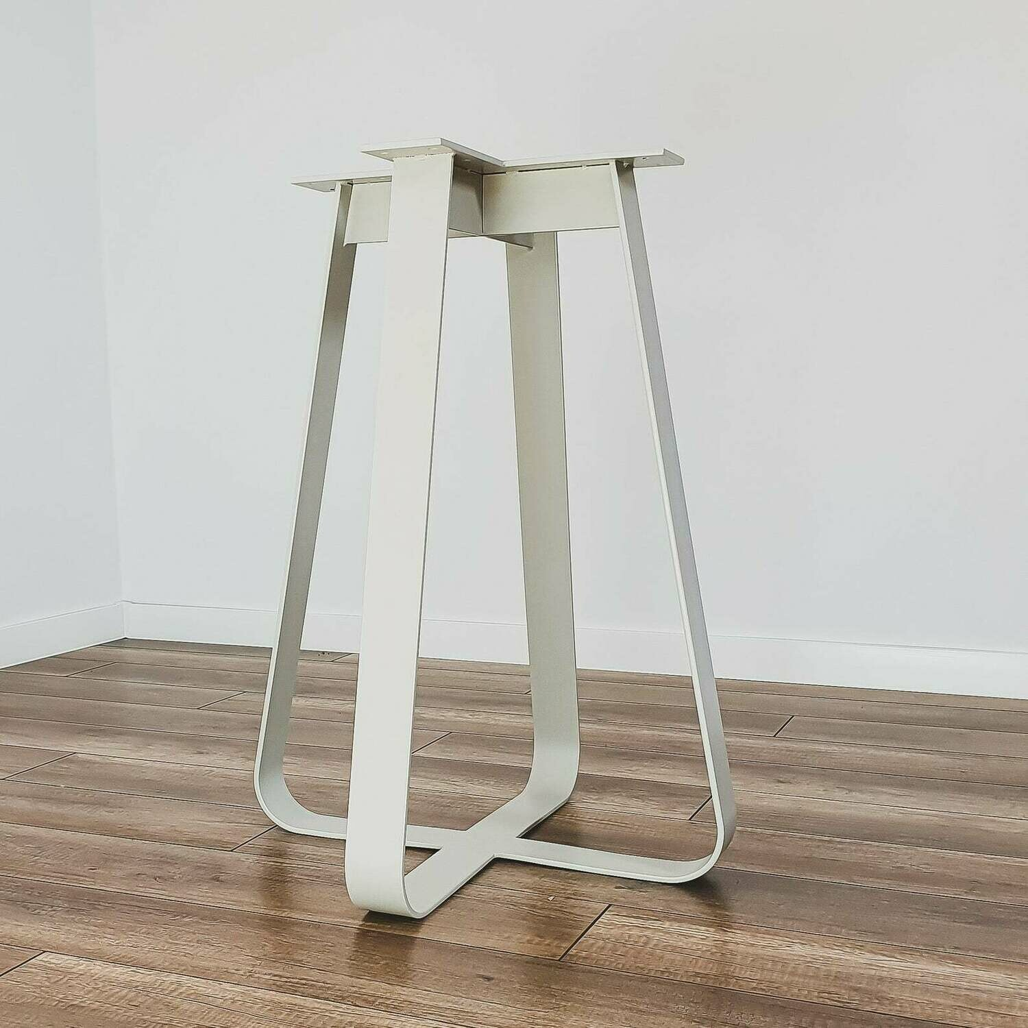 """Metal Dining Table Base 28"""" for round table. Modern Steel Table Legs. Industrial Metal table legs. Iron Table Legs. [D053]"""