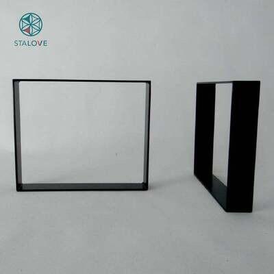 Metal Coffee Table Legs (set of 2). Steel, Modern, Industrial, Metal Base for Side Table. End Table Legs. 41x60 cm. [D061]