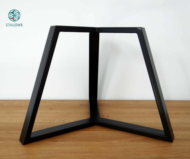"16"" steel table legs for round table. Coffee table legs. Industrial side table legs. StaloveStudio. [D065]"