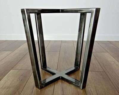 Metal Coffee Table Base. Modern Coffee Table Legs. End Table Legs, Side Table Legs. Industrial from StaloveStudio. [D067]