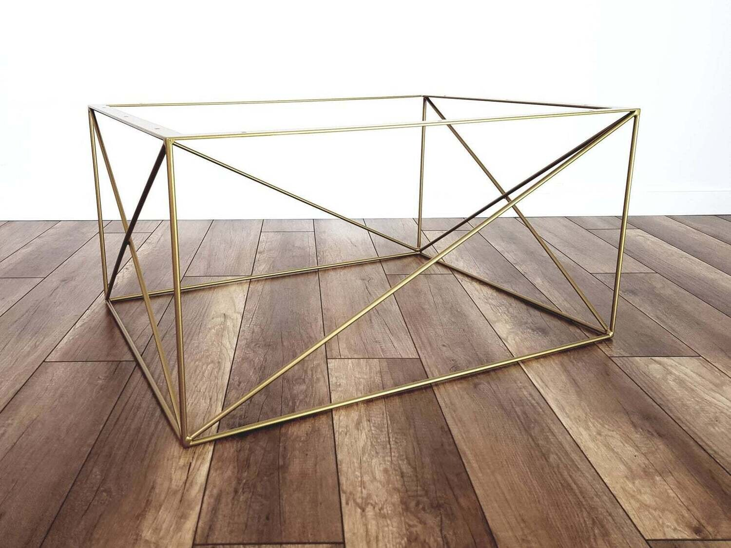 Metal Base for Coffee Table CHARLIE, M size (60x80cm). Modern Coffee Table Legs. Steel Table Frame. [D068]