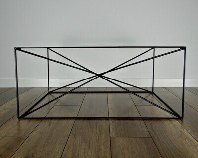 Metal Base for Coffee Table SPIDER, M size (60x80cm). Mid Century Modern Coffee Table Legs. Industrial, Steel by StaloveStudio. [D069]